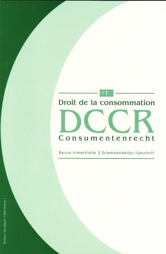 DROIT CONSOM./CONSUM. RECHT  2014/1N 102