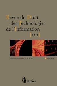 REV. DROIT TECHN. DE L'INFO 2014/2 N 55