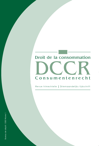 DROIT CONSOM./CONSUM. RECHT  2016/2N 111