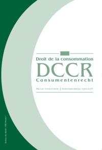 DROIT CONSOM./CONSUM. RECHT  2017/1 N 114