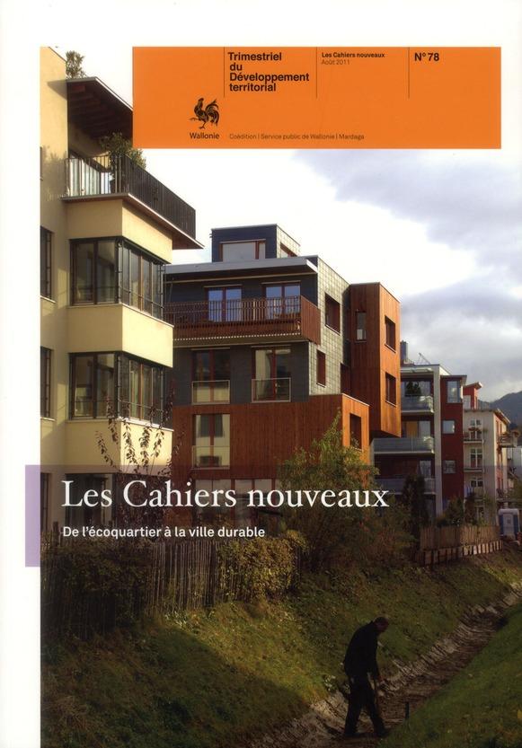CAHIERS DE L'URBANISME - 78