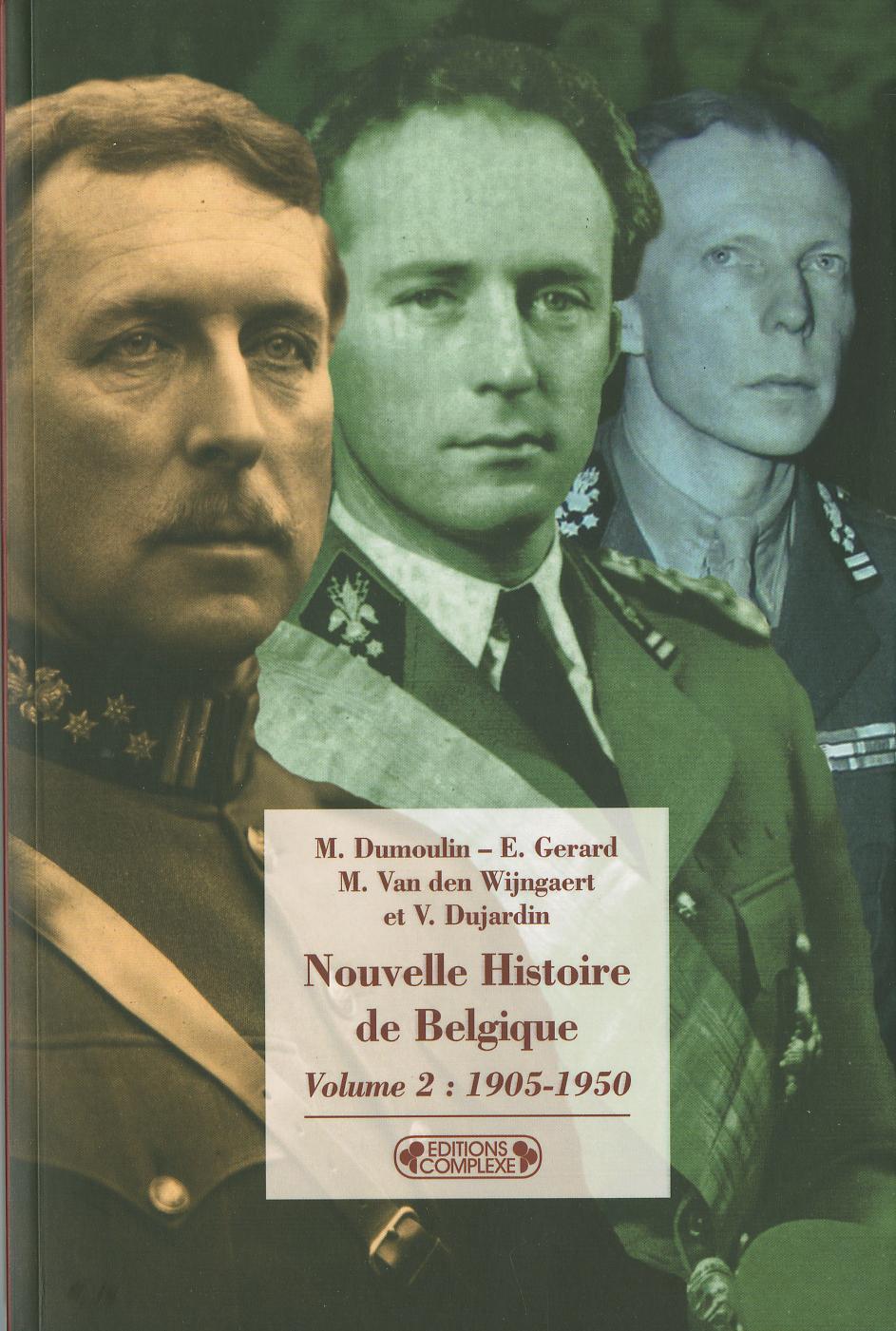 NOUVELLE HISTOIRE DE LA BELGIQUE VOL 2