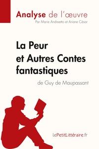 CONTES FANTASTIQUES DE MAUPASSANT-FICHE DE LECTURE
