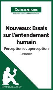 NOUVEAUX ESSAIS SUR L'ENTENDEMENT HUMAIN DE LEIBNIZ - PERCEP