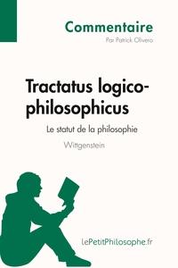 TRACTATUS LOGICO-PHILOSOPHICUS DE WITTGENSTEIN - LE STATUT D