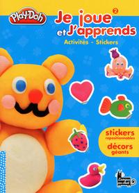 PLAY-DOH JE JOUE ET J'APPRENDS T02 ACTIVITES STICKERS
