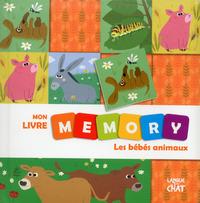 MON LIVRE MEMORY LES BEBES ANIMAUX