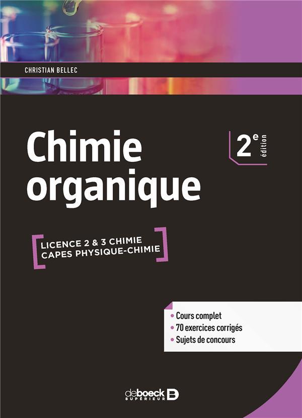 CHIMIE ORGANIQUE 2ED