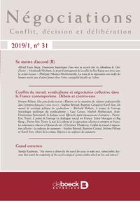 NEGOCIATIONS 2019/1 - 31 - SE METTRE D'ACCORD (II) / VARIA