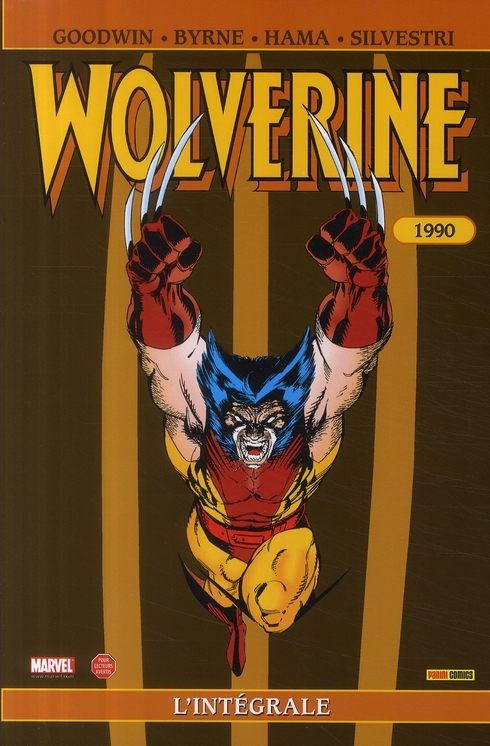 WOLVERINE INTEGRALE T03 1990