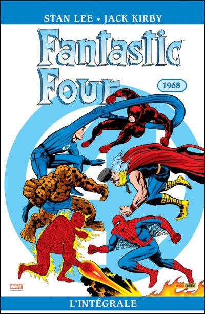FANTASTIC FOUR INT T07 1968