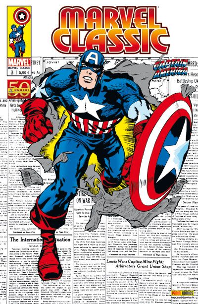 MARVEL CLASSIC 3 : CAPTAIN AMERICA