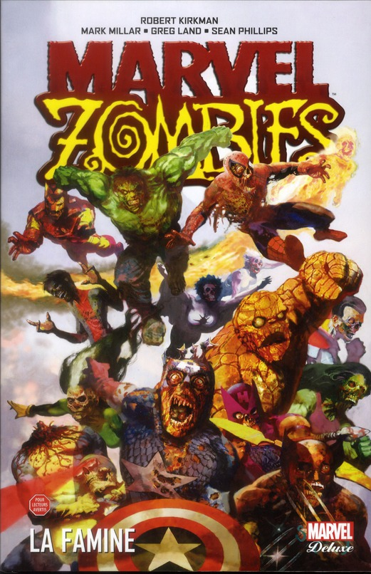 MARVEL ZOMBIES DELUXE T01