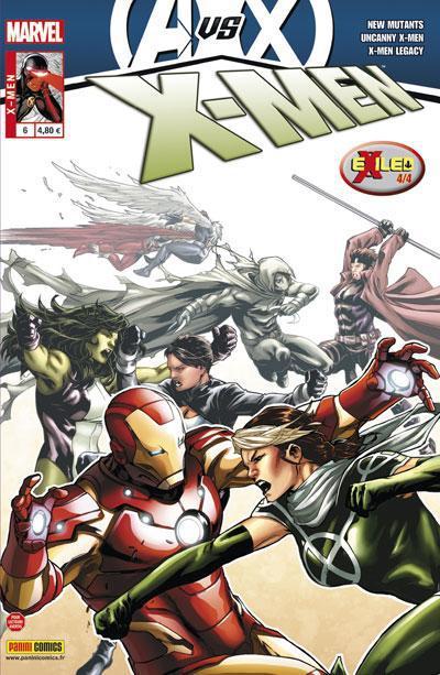 X-MEN 2012 006  AVENGERS VS X-MEN  & EXILED (4/4)