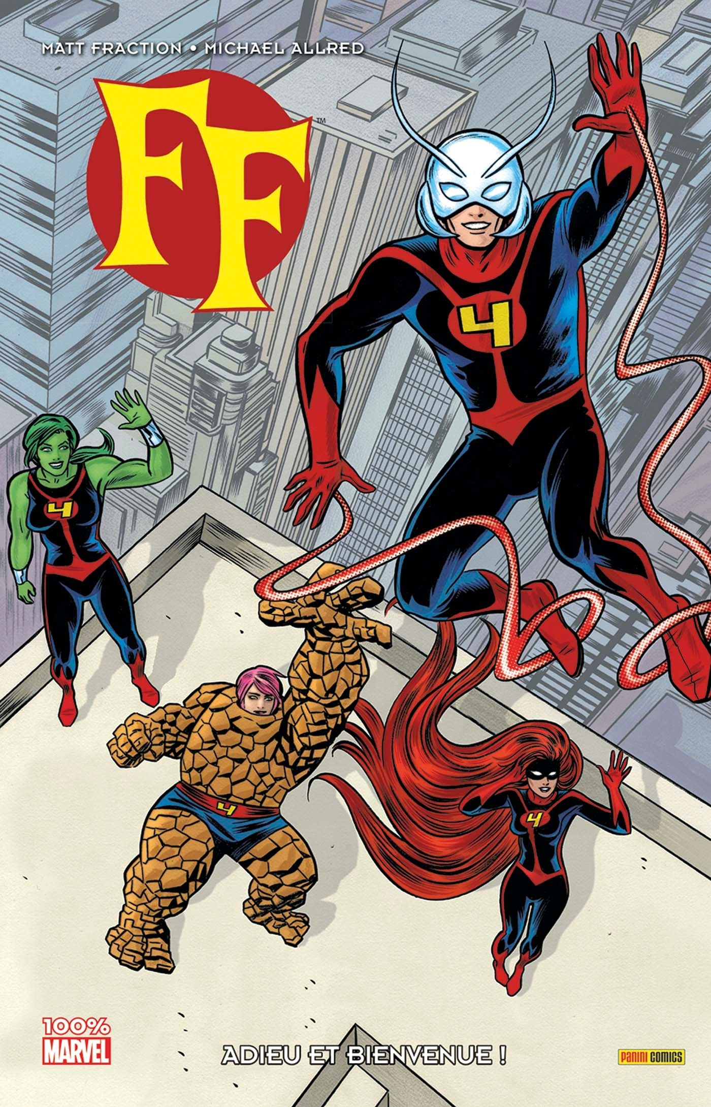 FF MARVEL NOW ! T01