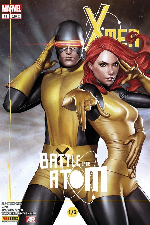 X-MEN 2013 009 COVER SPECIAL LIBRAIRIE ( LA BATAILLE DE L'ATOME 1/2 )