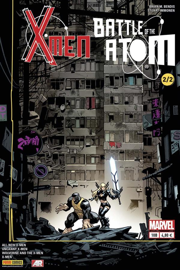 X-MEN 2013 010 COVER SPECIAL LIBRAIRIE ( LA BATAILLE DE L'ATOME 2/2 )