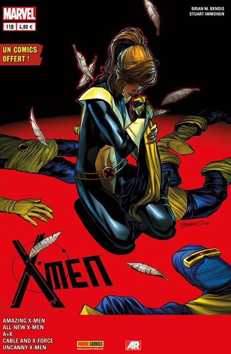 X-MEN 2013 011 COVER SPECIAL LIBRAIRIE PETERSEN
