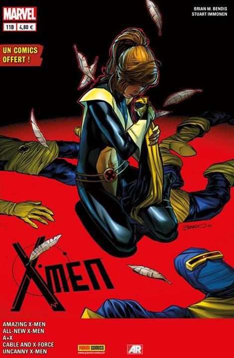 X-MEN 2013 011 COVER SPECIAL LIBRAIRIE PETERSEN