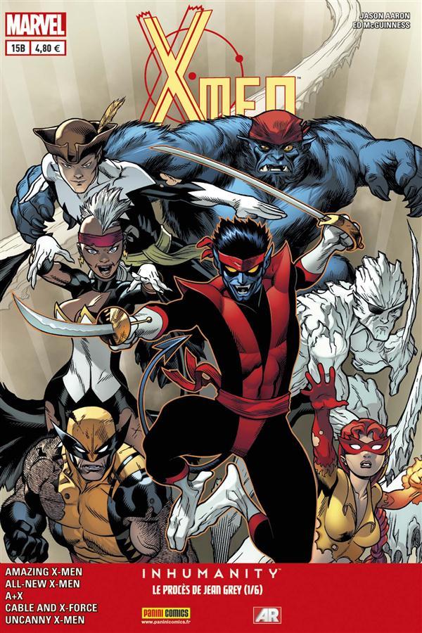 X-MEN 2013 015 : VENDETTA 3/4 & LE PROCES DE JEAN GREY 1/6 COVER LIBRAIRIE