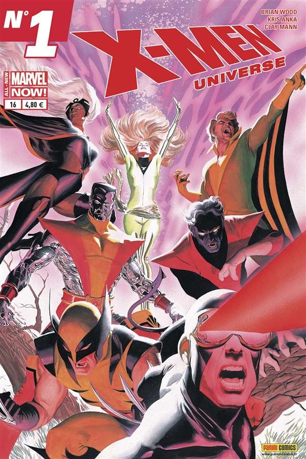 X-MEN UNIVERSE 2013 016 ALL-NEW MARVEL NOW !