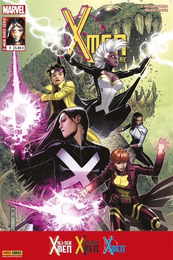X-MEN  HS V3 02 : LA VIE SECRETE D'EVA BELL & UN MONDE EN FLAMMES
