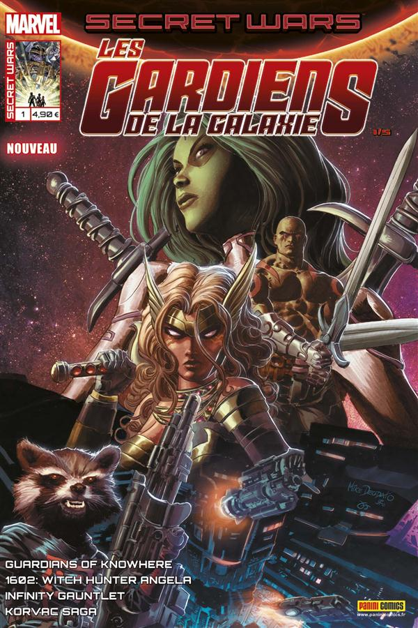 SECRET WARS : 1 LES GARDIENS DE LA GALAXIE