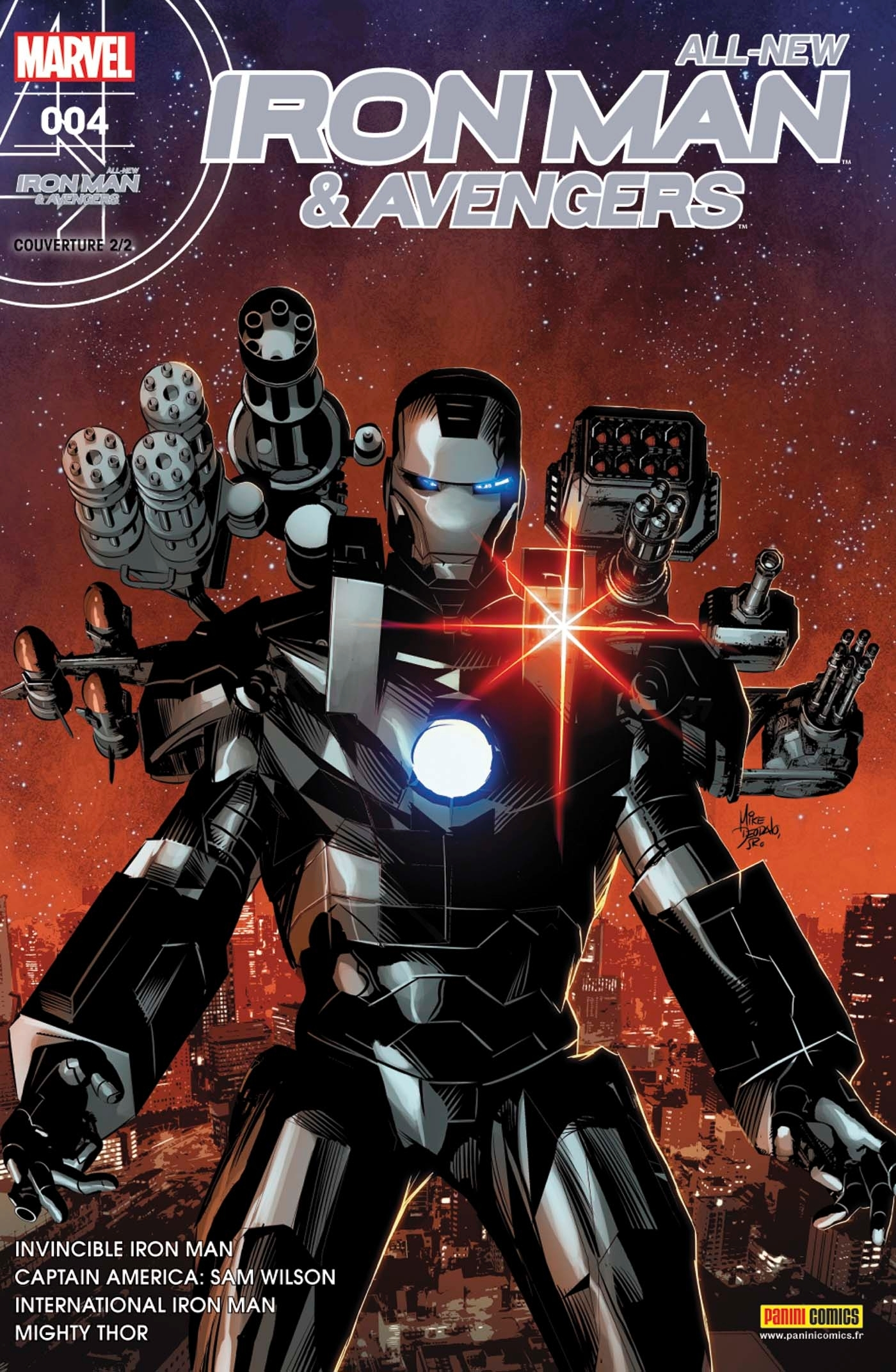 ALL-NEW IRON MAN & AVENGERS N  4 (COUVERTURE 2/2)