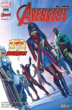 ALL-NEW AVENGERS N  5 (COUVERTURE 1/2)
