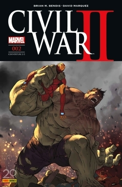 CIVIL WAR II N 2 (COUVERTURE 2/2)