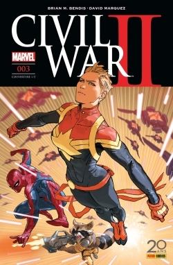 CIVIL WAR II N 3 (COUVERTURE 1/2)
