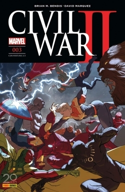 CIVIL WAR II N 3 (COUVERTURE 2/2)