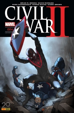 CIVIL WAR II N 4 (COUVERTURE 1/2)