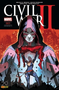 CIVIL WAR II N 5 (COUVERTURE 1/2)