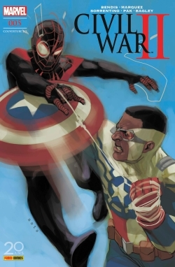 CIVIL WAR II N 5 (COUVERTURE 2/2)