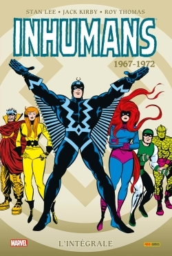 INHUMANS INTEGRALE T01 1967-1972