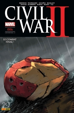 CIVIL WAR II N 6 (COUVERTURE 1/2)