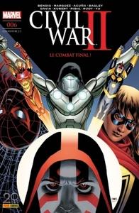 CIVIL WAR II N 6 (COUVERTURE 2/2)