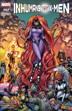 INHUMANS VS X-MEN N 2