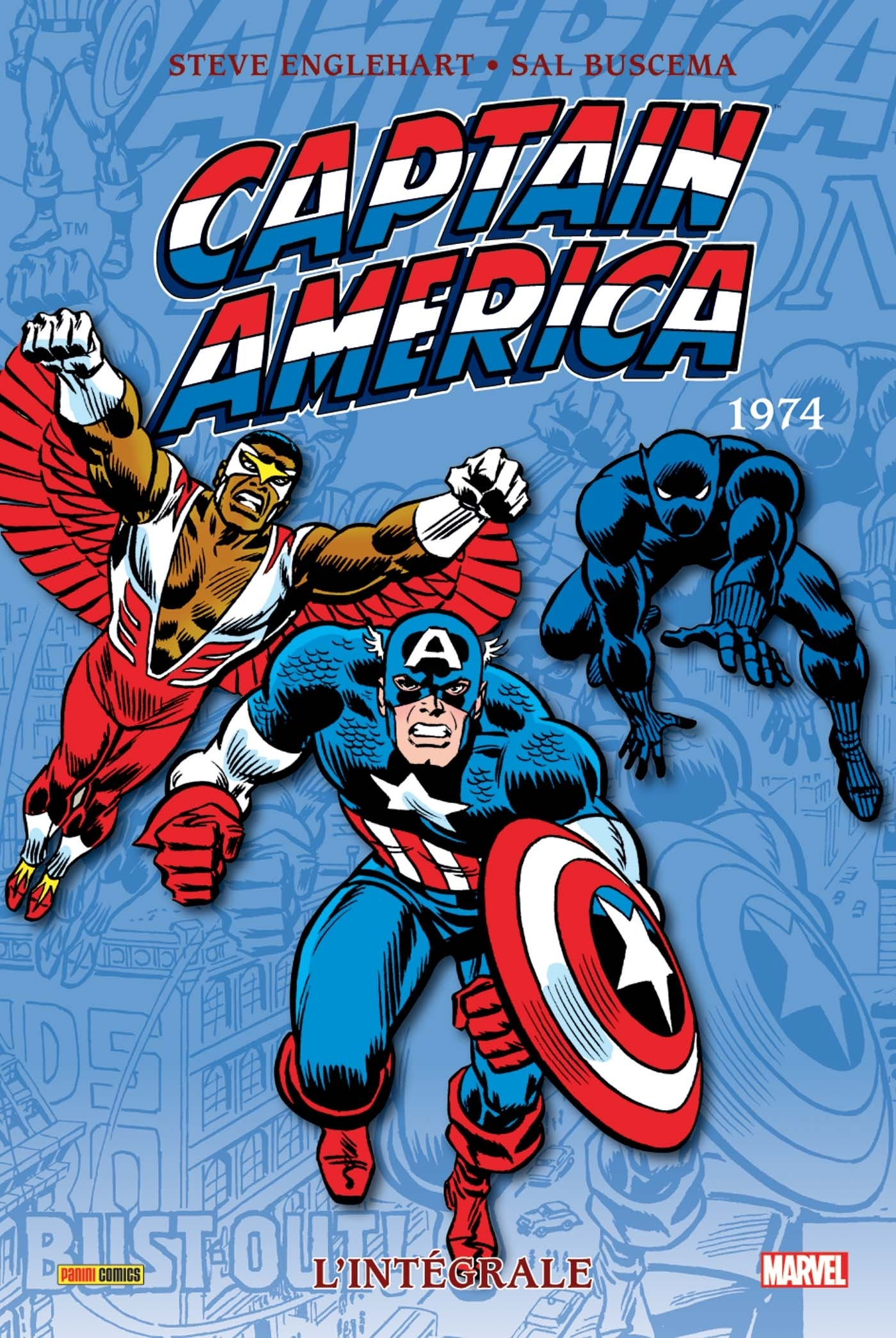 CAPTAIN AMERICA INTEGRALE T08 1974