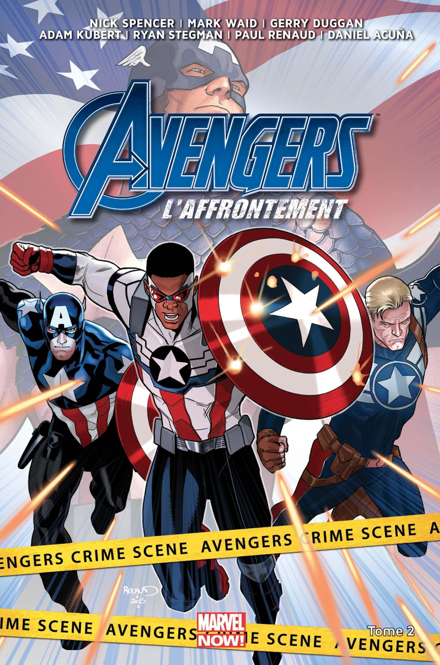 AVENGERS : L'AFFRONTEMENT T02