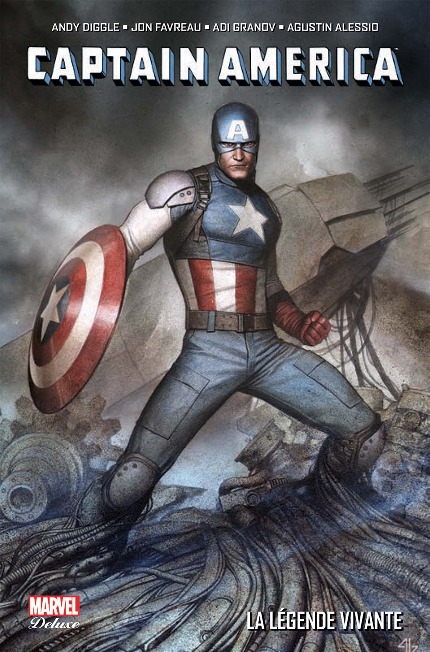 CAPTAIN AMERICA : LA LEGENDE VIVANTE