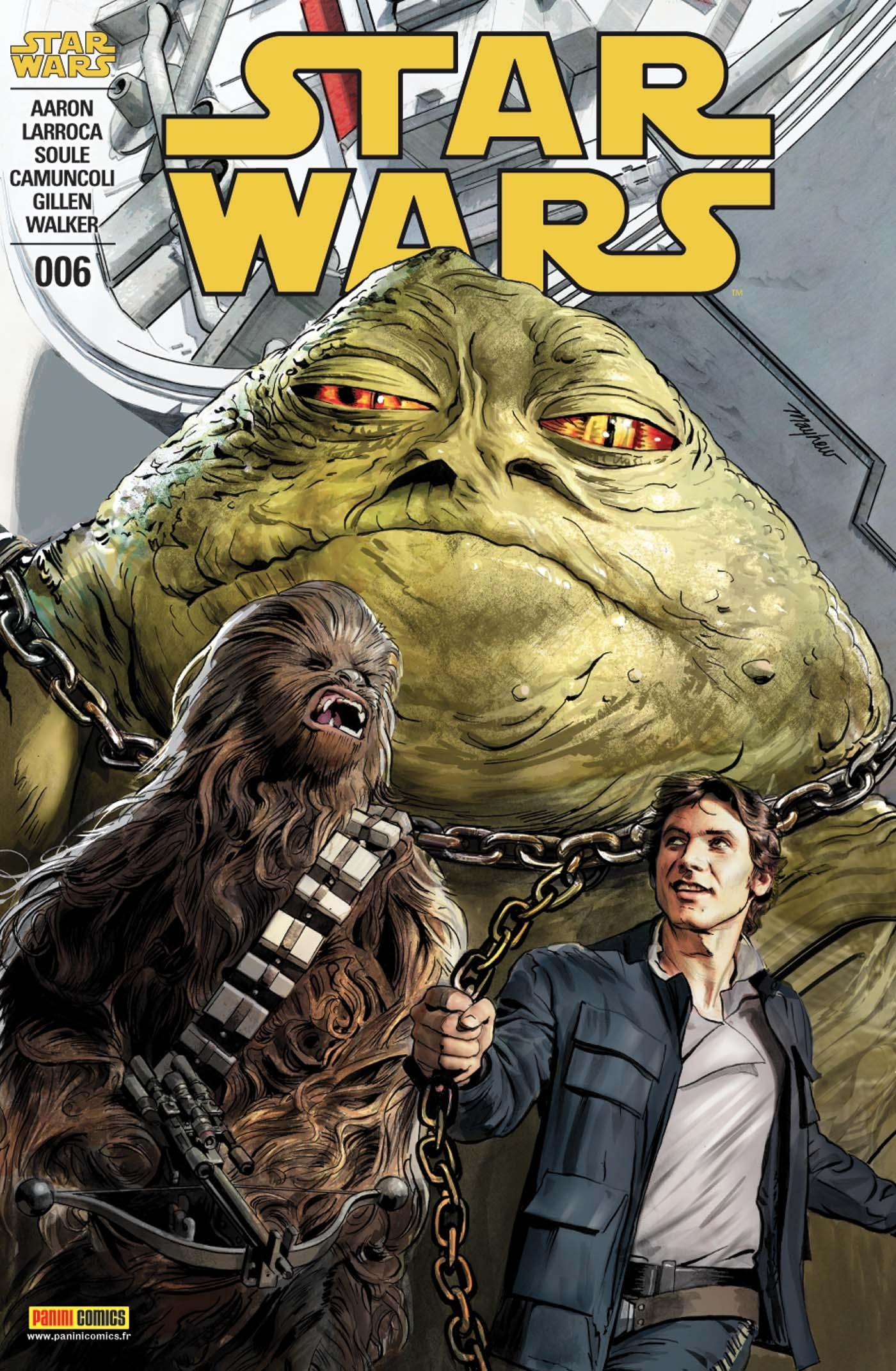 STAR WARS N 6 (COUVERTURE 1/2)