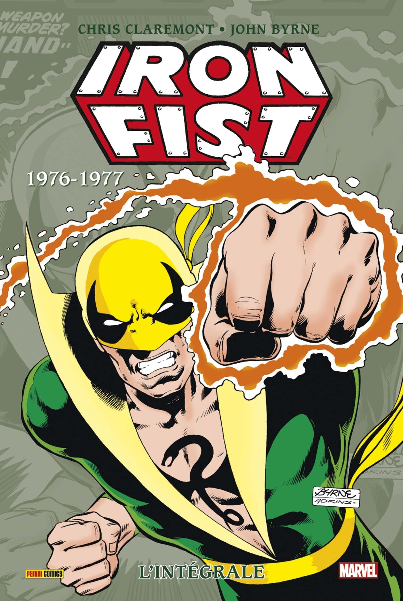IRON FIST INTEGRALE T02 1976-1977