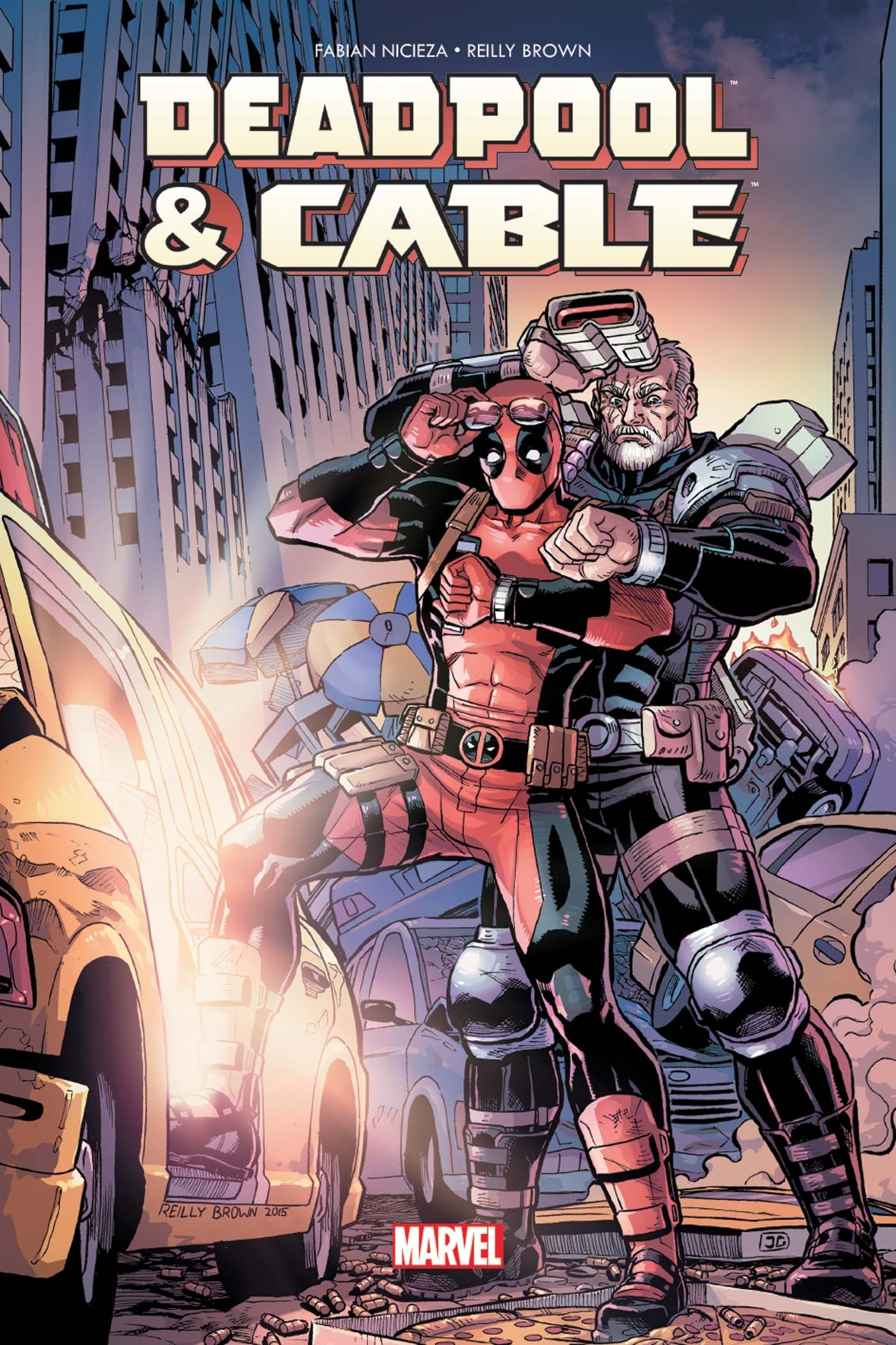 DEADPOOL ET CABLE FRACTION DE SECONDE