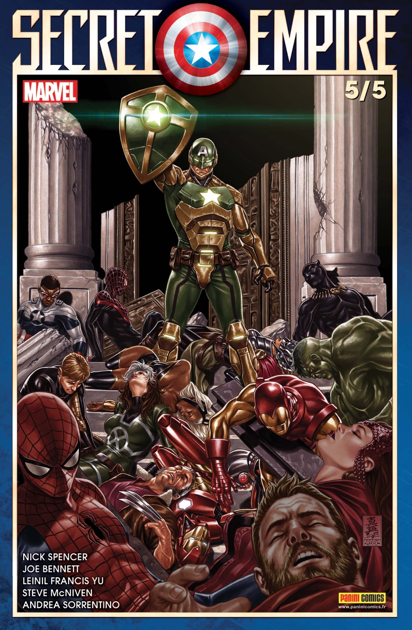 SECRET EMPIRE N 5