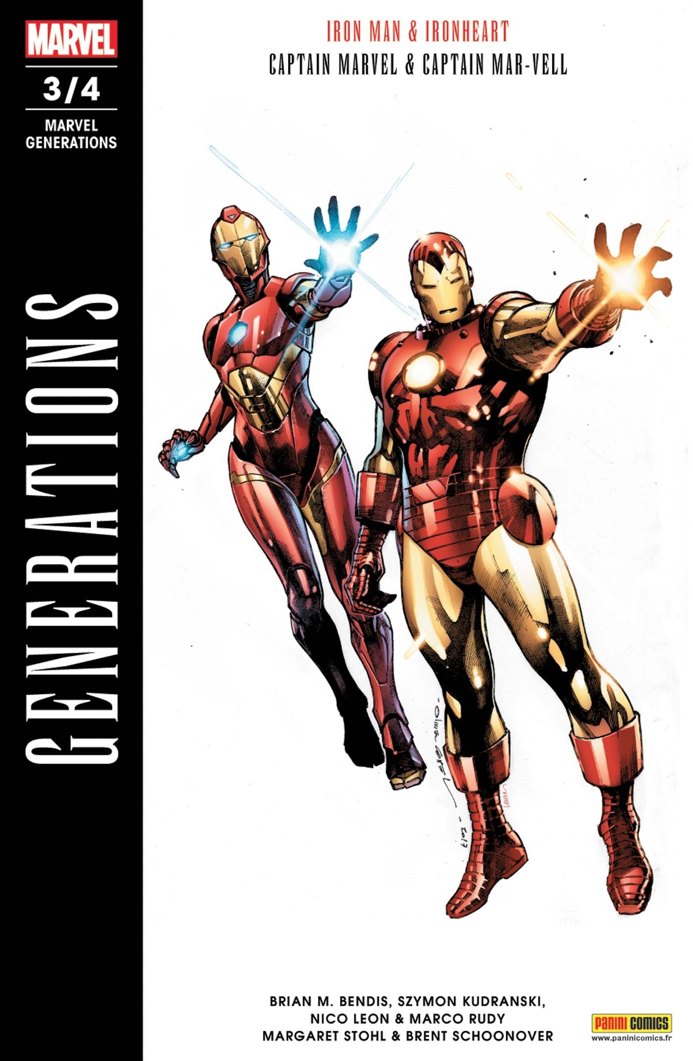 MARVEL GENERATIONS N 3