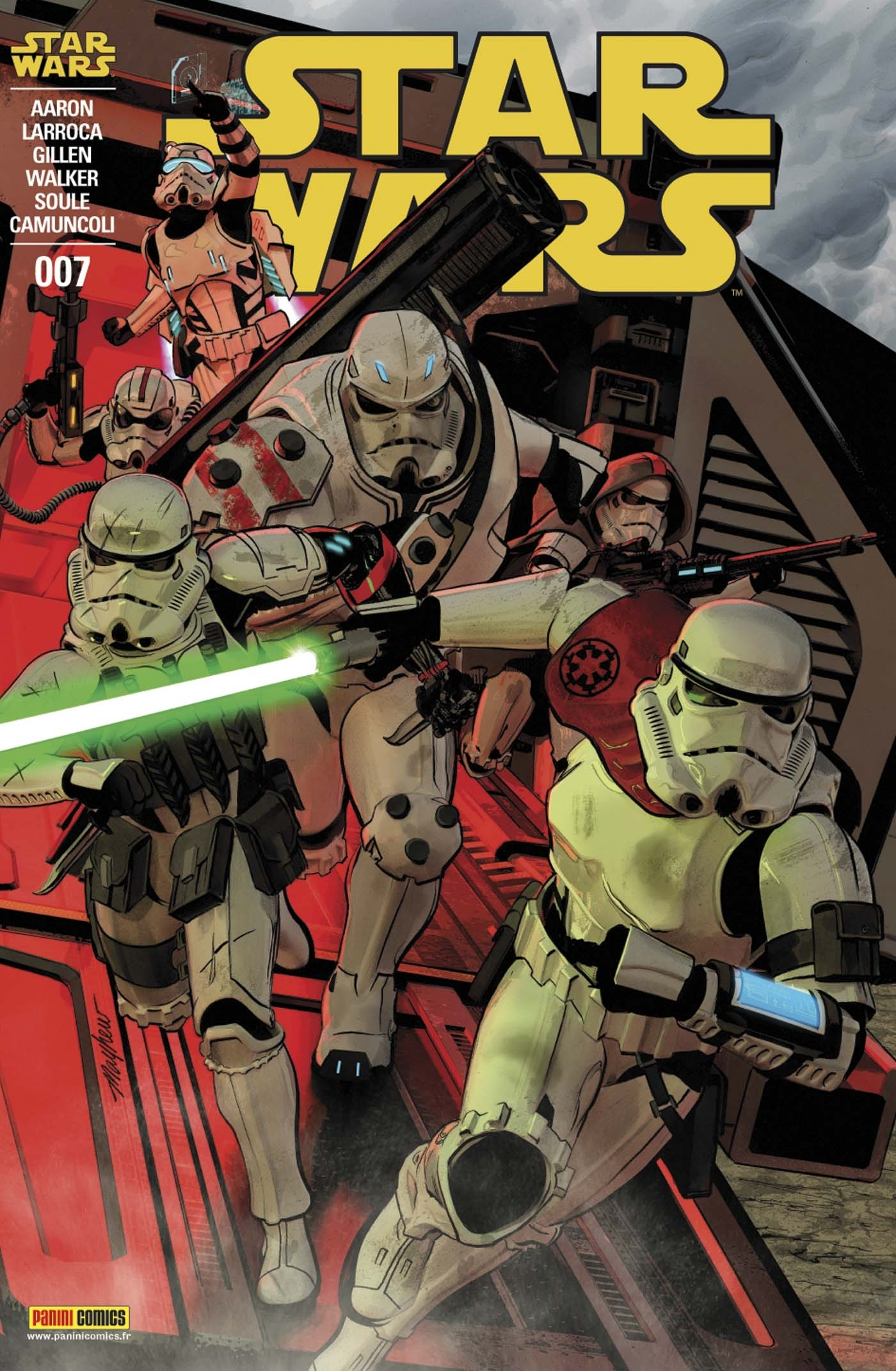 STAR WARS N 7 (COUVERTURE 1/2)