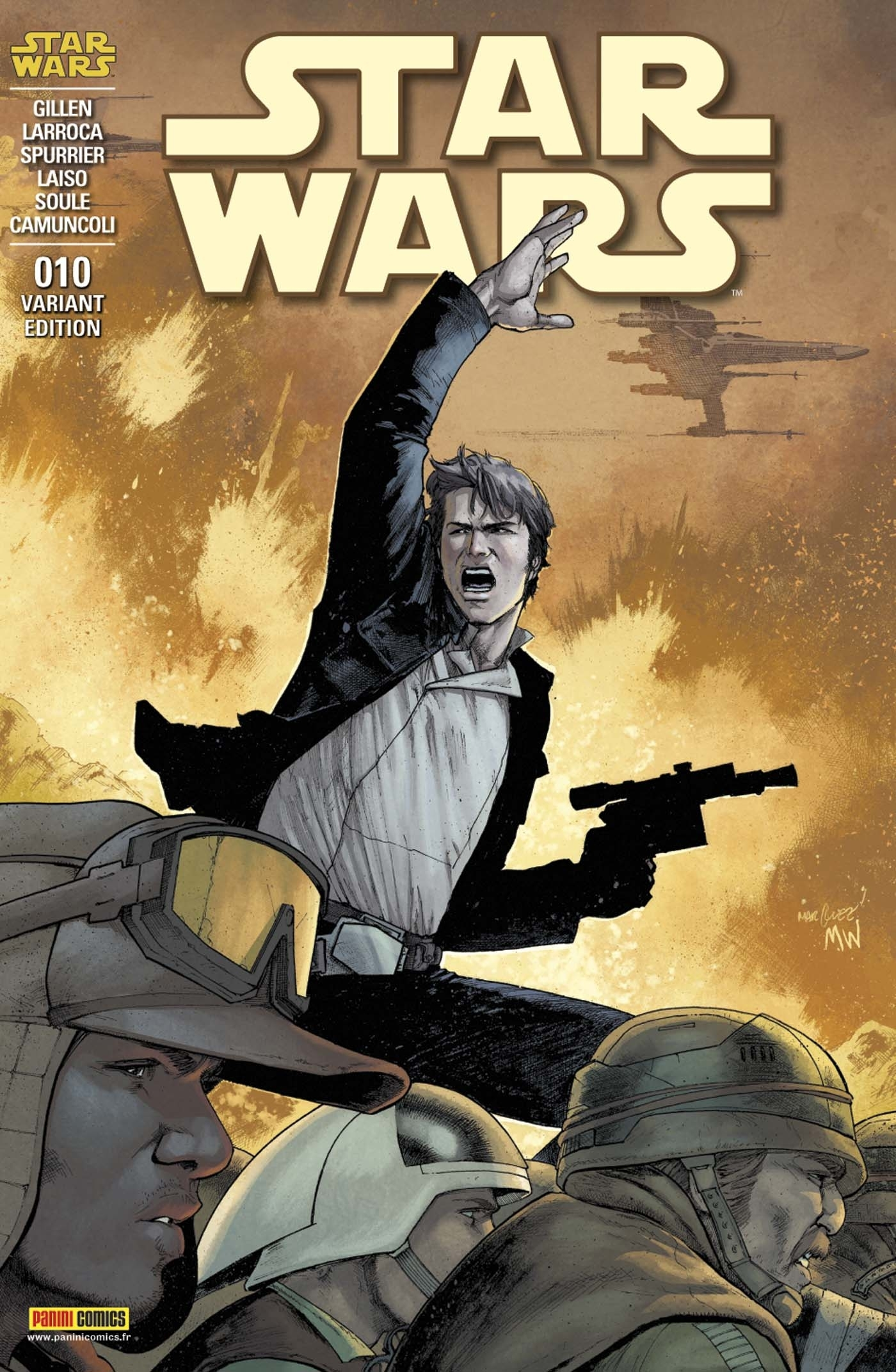 STAR WARS N 10 (COUVERTURE 2/2)