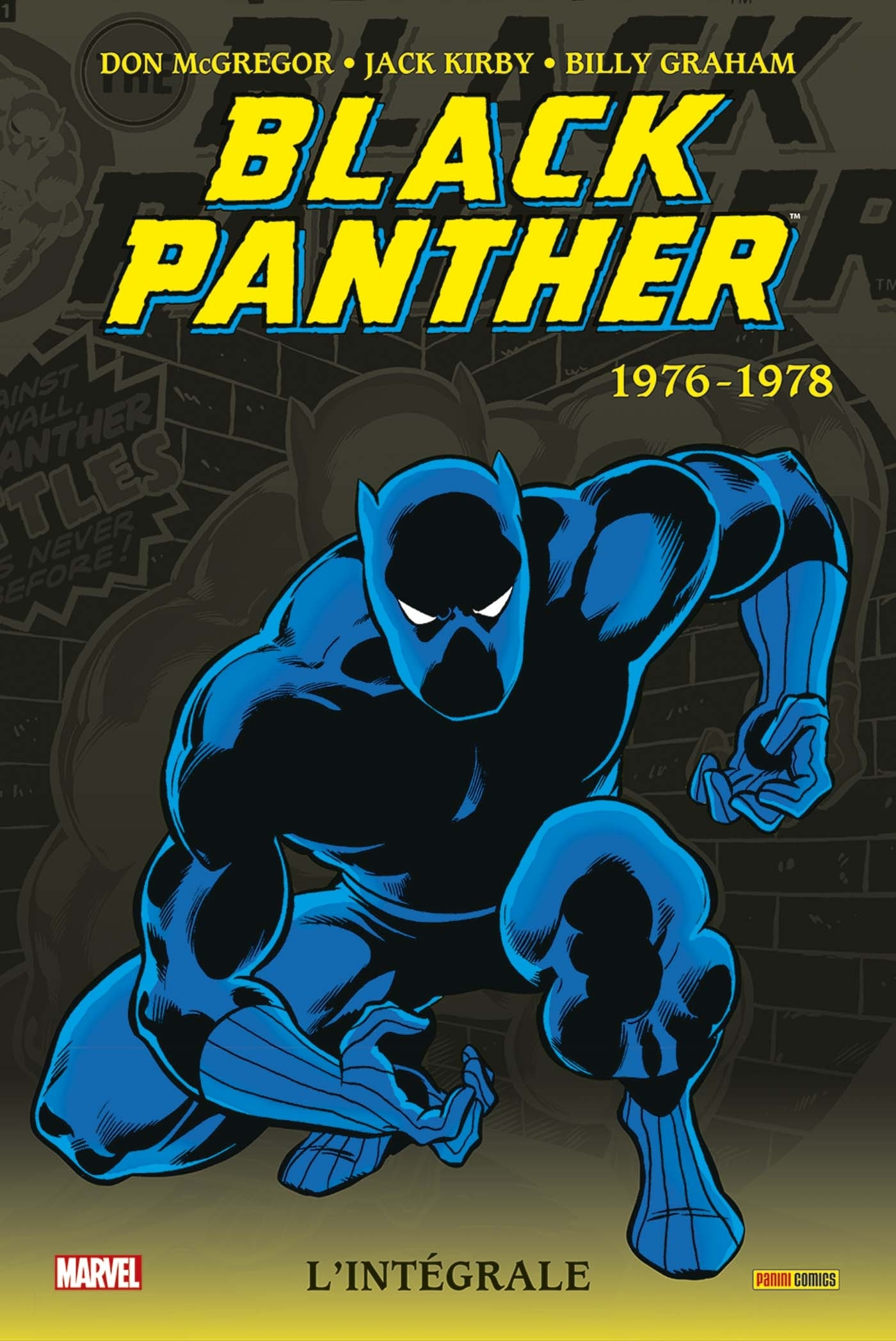 BLACK PANTHER : L'INTEGRALE T02 (1976-1978)